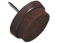 ochrana podlah filcová s hřebíčkem do nábytku 22mm HN (8ks) blistr