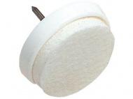 ochrana podlah filcová s hřebíčkem do nábytku 30mm BÍ (8ks) blistr