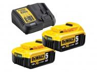 Set akumulátorů 2x 5,0Ah DeWALT DCB115P2