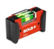 Vodováha SOLA kompaktní GO! magnetic CLIP