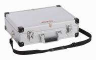 KRT640101S - Hliníkový kufr 420x300x125mm stříbrný