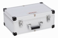 KRT640260S - Hliníkový kufr na 60CD stříbrný