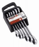 KRT500013 - Sada klíčů otevřený/očko-ráčnový 6ks