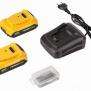 POWX00510 - Aku bezuhlíkový příklepový šroubovák / vrtačka 20V LI-ION 2BAT