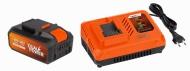POWDP9064 - Nabíječka 20V/40V  plus  Baterie 40V LI-ION 2,5Ah SAMSUNG