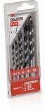 KRT012401 - 5 ks Vrtáků do betonu SET 4-5-6-8-10 mm