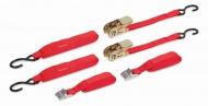 KRT555004 - Upínací pás ráčnový a upínacící gumy (sada 8ks)