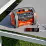 POWDP7030 - Aku kompresor 20V  plus 220V (bez AKU)