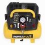 POWX1721 - Kompresor 1100W 6L 8bar bezolejový
