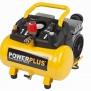 POWX1724S - Kompresor SILENT 550W 6L  plus 10ks přísl. Bezolejový