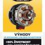 POWXB20050 - Aku úhlová bruska 125mm 20V