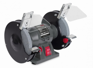 POWE80080 - Dvoukotoučová bruska 150W