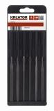 KRT451200 - Sada jehlových pilníků 6ks
