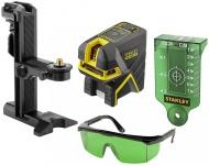 Stanley FatMax® křížový + 2bodový laser - zelený FMHT1-77438